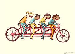hold på cykel
